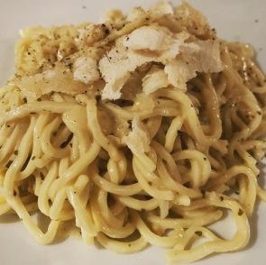 Spaghetti met heel veel kaas