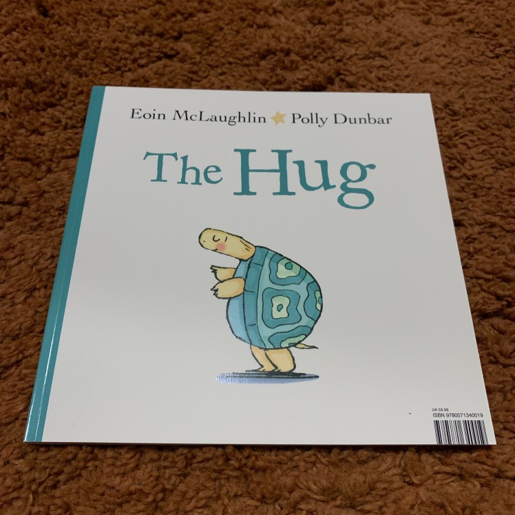the hug, stories, turtle, book