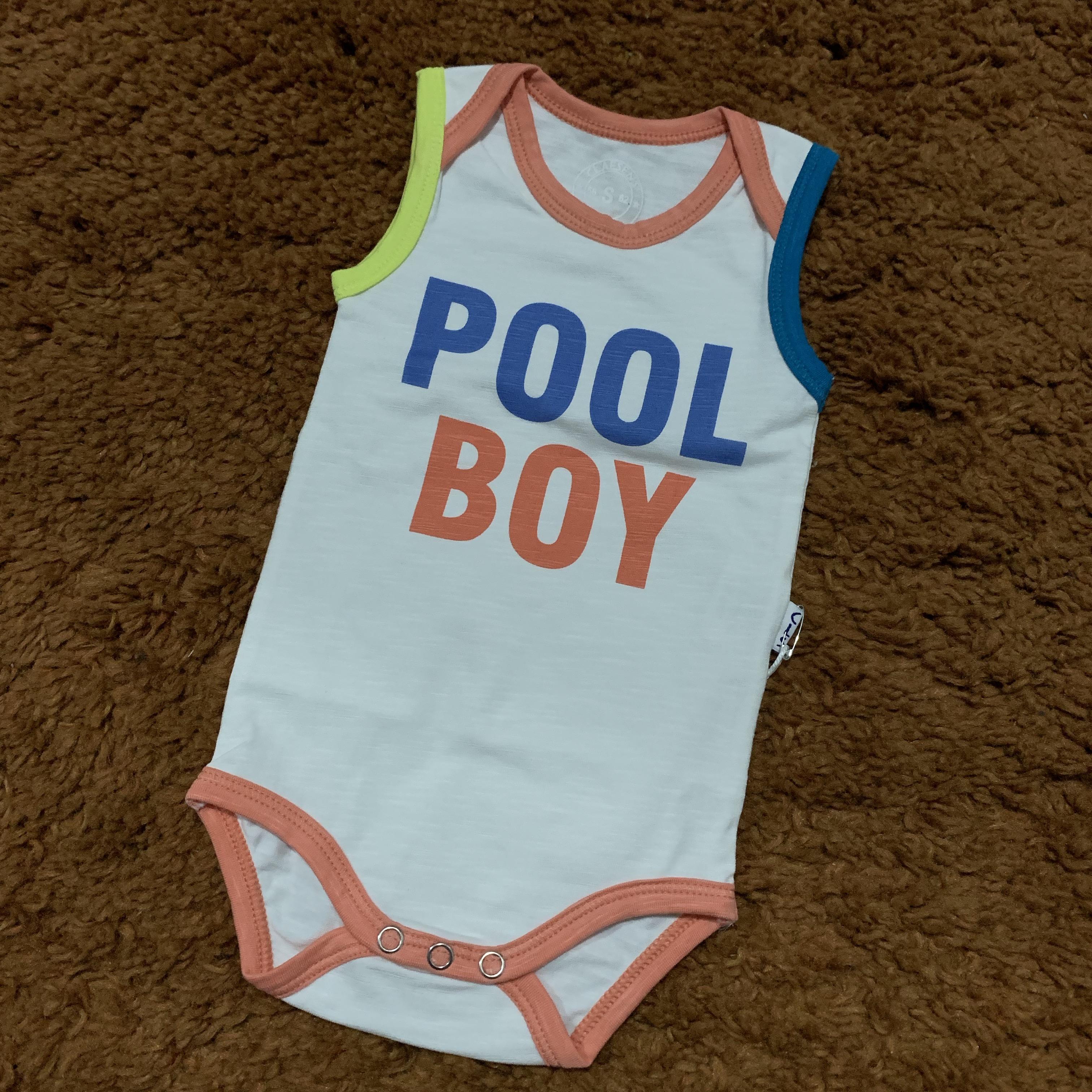 Poolboy, babyboy, hempie, romper